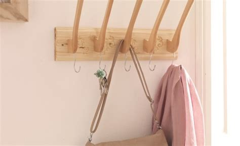 unique coat hangers diy make unique coat rack with wooden hangers