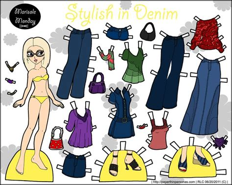 Modern Paper - modern paper doll www pixshark images galleries
