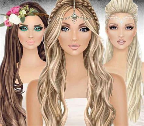 unlock covet fashion hairstyle 9 best fashion illustration covet images on pinterest