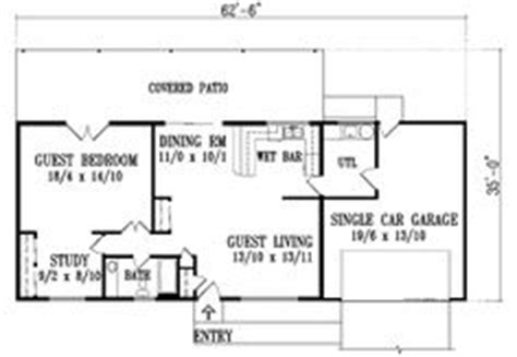 Guest House On Pinterest House Plans Guest House Plans Small House Plans With Future Additions