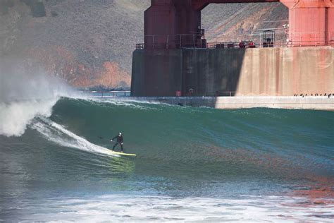 Surfing San Francisco by Breaking The Walls Sup Surfing The Tribal Zone
