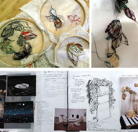 design inspiration textiles exles a level textiles beautiful sketchbook pages