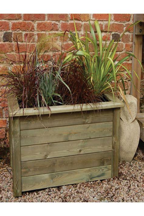 Small Rectangular Planter by Forest Garden Small Rectangular Bamburgh Planter Kit