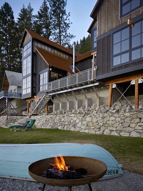 lake chelan cabin bernie baker architect