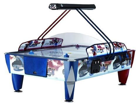 sam fast track 8 foot commercial air hockey table