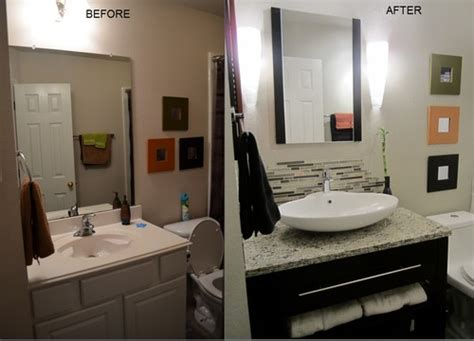 bathroom makeovers on a tight budget budget friendly makeover of guest bathroom
