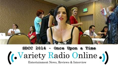 lana parrilla interview youtube lana parrilla once upon a time comic con 2014