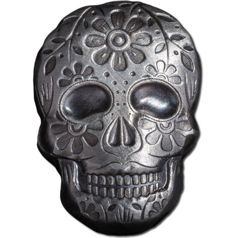 Buy 2 oz Monarch Day of the Dead Skulls Online l JM Bullion?