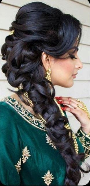 Asian Indian Wedding Hairstyles by Best 25 Indian Wedding Hairstyles Ideas On