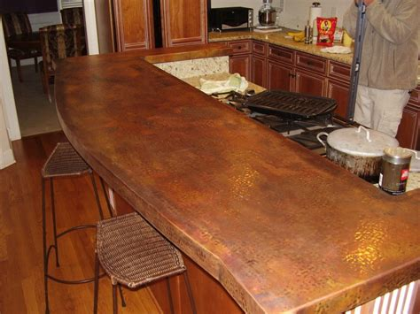 hammered copper bar top copper bar tops kitchen bath bar circle city