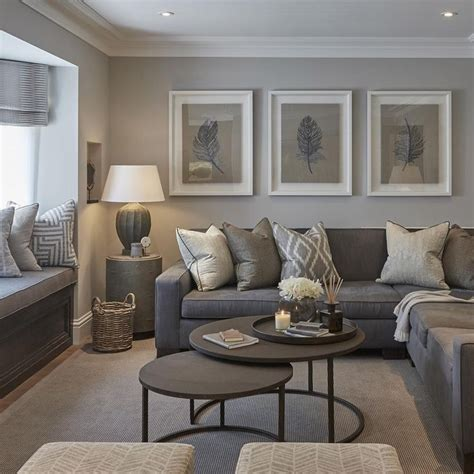 living rooms  beautiful    color grey