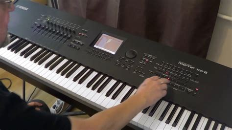 yamaha keyboard tutorial videos yamaha motif xf8 guitar solo and arrangement tutorial