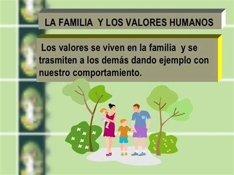 imagenes de la familia y sus valores la familia formadora de valores humanos