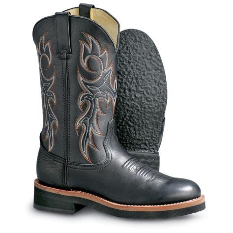 mens durango boots s durango boot 174 crepe ropers black 99634 cowboy