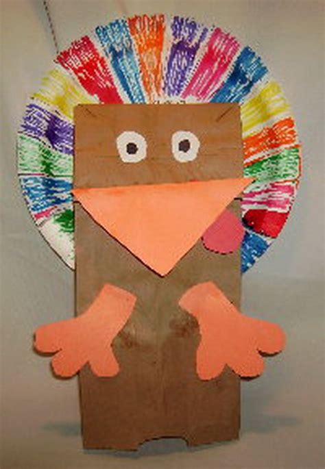 Paper Turkey Craft Ideas - toddler crafts easy adorable thanksgiving cupcake