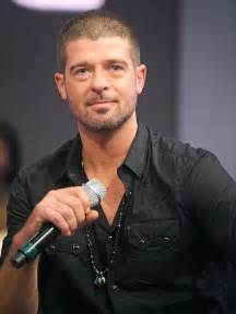 Robin Hecke by Robin Thicke I Told My The And That S Why She