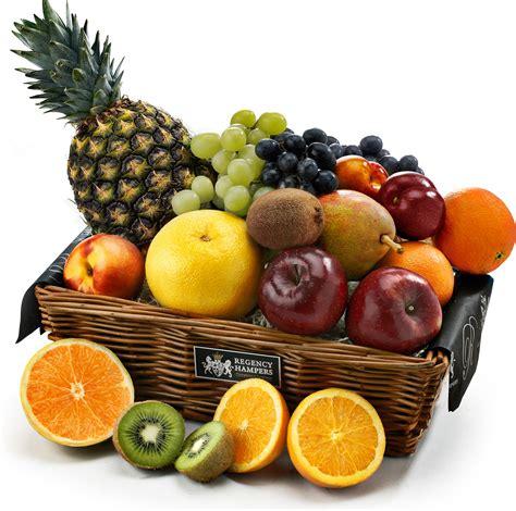 fruit baskets the classic fresh fruit basket regency hers