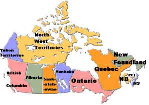 clickable map of canada undergraduate schools 4 year schools colleges and
