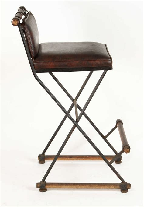 pair of caign barstools by cleo baldon at 1stdibs