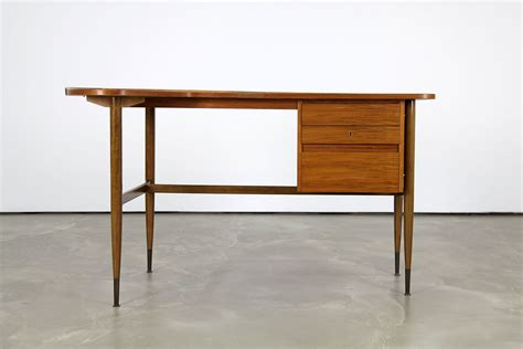 mid century desk l mid century l shaped walnut desk 1960s for sale at pamono