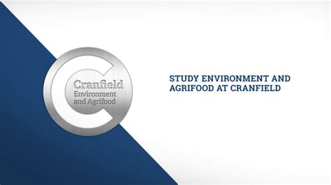Cranfield Mba Requirements by Future Food Sustainability Msc