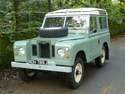 light green range rover ndh 789j outstanding 1971 land rover series iia station