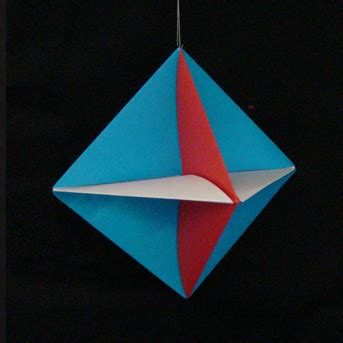Geometric Origami Shapes - modular origami create amazing geometric shapes through