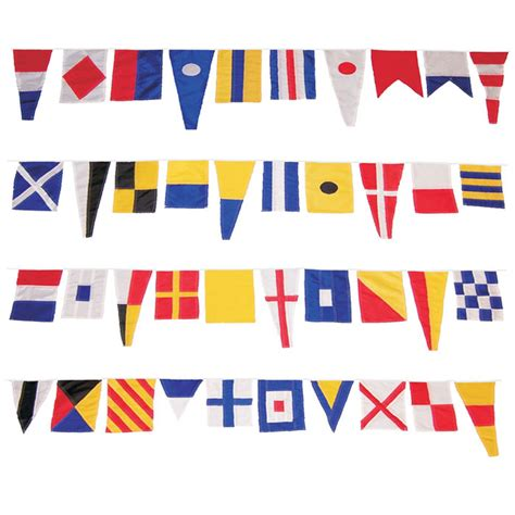 party boat flags 40 foot nautical fabric signal flag border 40 flags