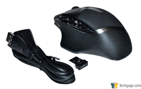 Mouse Gaming Wireless Logitech logitech g602 wireless gaming mouse review techgage