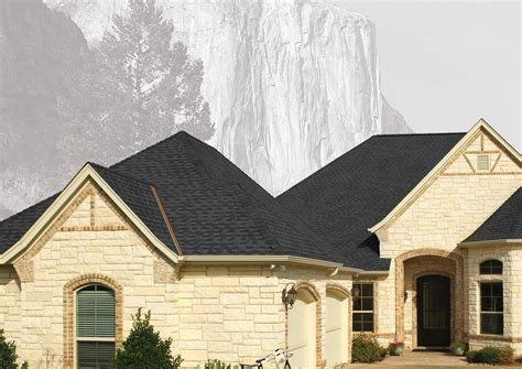 houses with black roofs gaf gray black roofing shingles