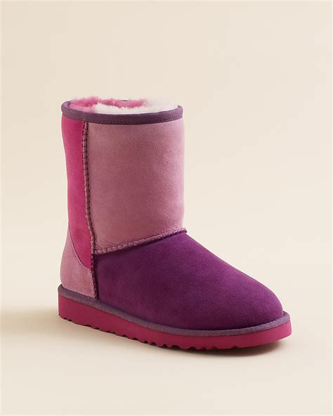 Patchwork Ugg Boots - ugg 174 australia classic patchwork boots big kid