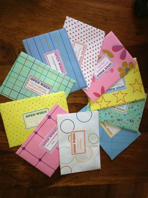 when do you open new year envelopes quot open when quot letters 10 steps with pictures