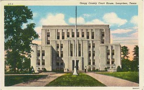 Longview Post Office by Postcards From Gregg County