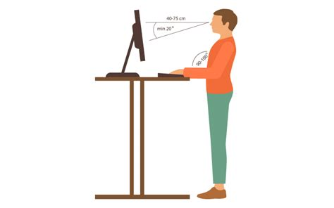 correct height for standing desk how to measure a standing desk xdesk