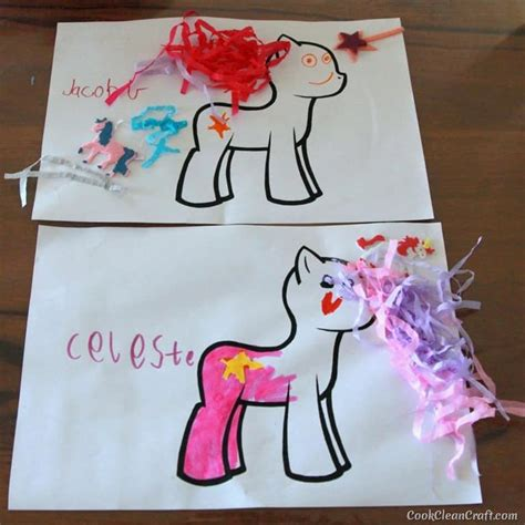my pony crafts for how to host the my pony cook clean