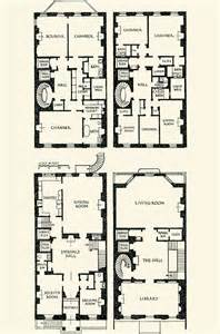 Townhouse Building Plans The Gilded Age Era Vincent Astor Townhouse