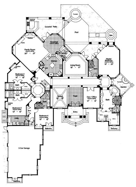 fancy house plans 1000 ideas about luxury home plans on