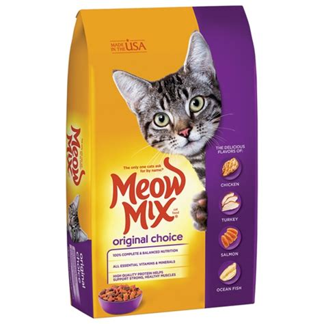 Meow Mix Kitten 510g Makanan Kucing Cat Food southernstates meow mix original choice cat food