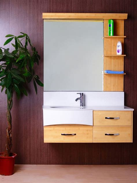 Bamboo Bathroom Cabinet & Vanity   New Furniture For