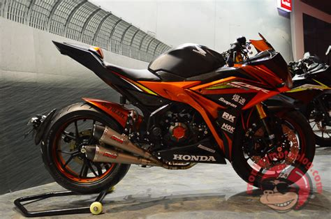 Modifikasi Motor Terbaru 2016 by Gambar Modifikasi Motor Honda All New Cbr 150 R 2016