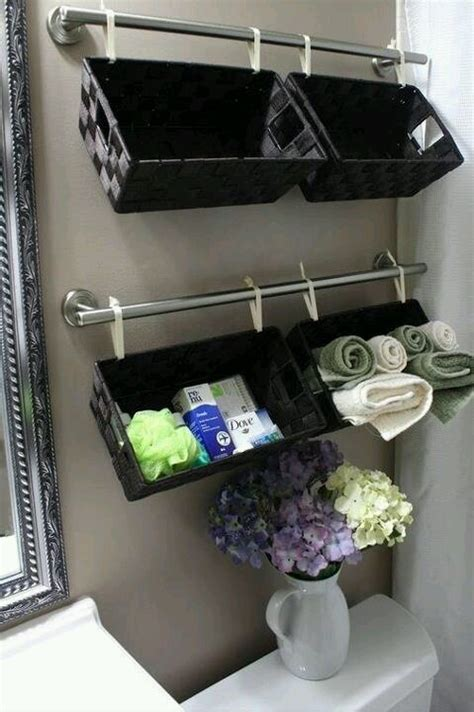 Pinterest Bathroom Storage Ideas Bathroom Storage Ideas For The Home Pinterest
