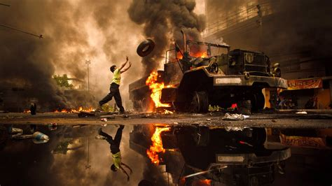 Press And Media Photographer On News Pictures Of The Year Winning Images From 2010