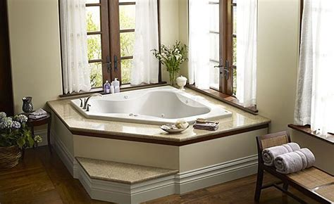 corner bathtub ideas built in corner bath tub primo 6060 jacuzzi home