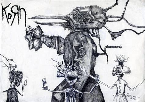 Cd Korn Untitled Album Korn 2007 Untitled Album By Littleskrillexkid On