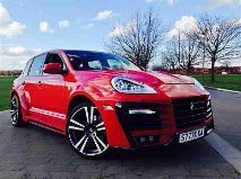 Porsche Cayenne Gas Mileage by Porsche Cayenne 4 5s V8 Top Spec Lpg Gas Low Mileage Px