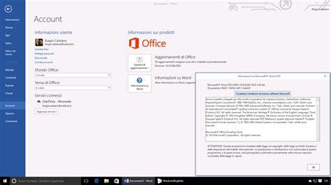 Office Insider Disponibile Office Insider Build 16 0 6366 2062