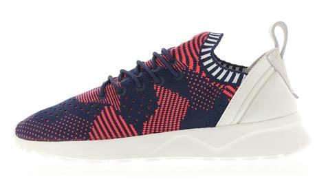 adidas zx flux primeknit adidas zx flux adv virtue primeknit shock red navy sbd