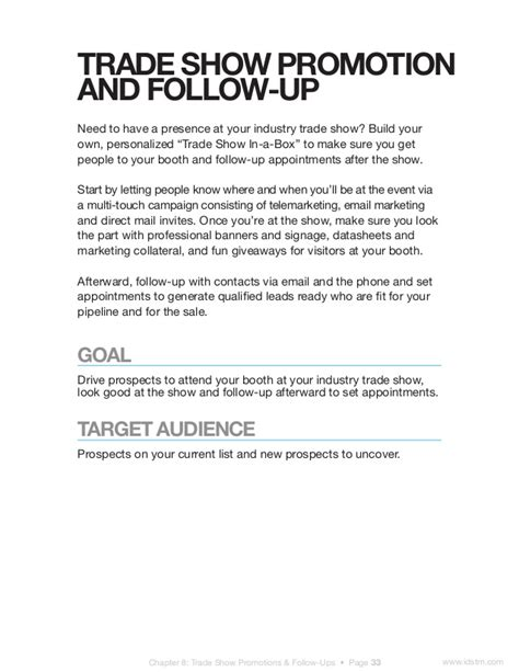 10 Turnkey B2b Lead Generation Caigns Trade Show Invitation Email Template