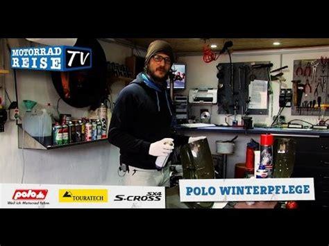Motorrad Rostschutz Winter motorrad winterpflege rostschutz mit polo