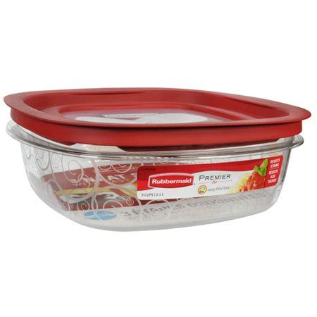 Walmart Kitchen Storage Containers by Rubbermaid 72 Oz Premier Square Food Storage Container